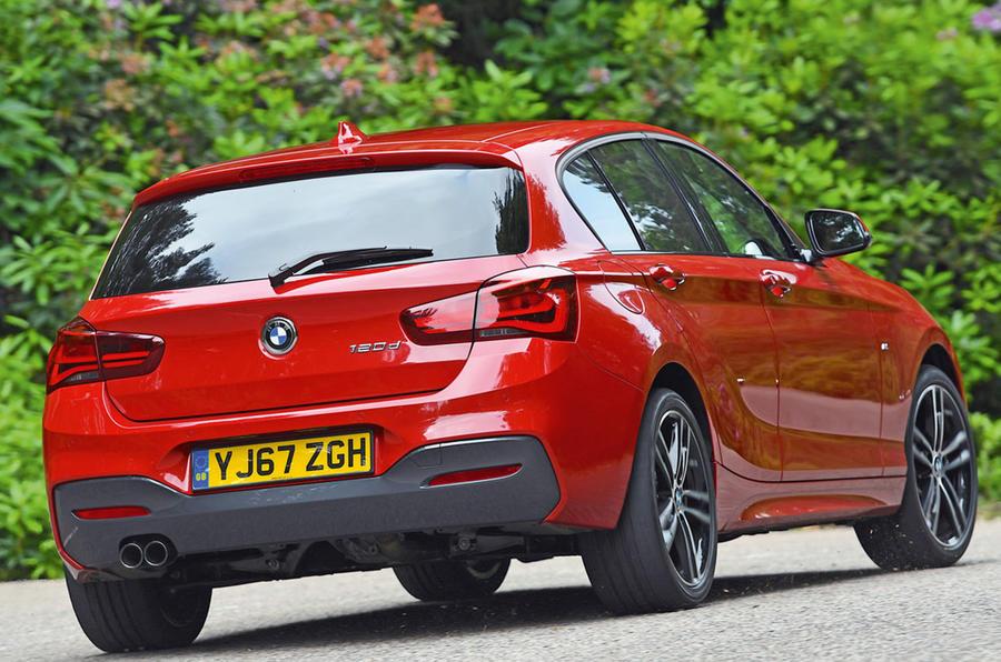 BMW 1 Series - tracking rear