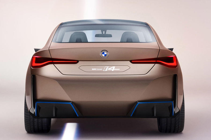 BMW i4 Concept 2020 - stationary rear