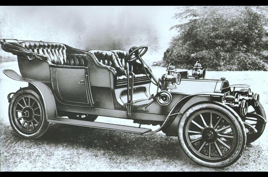 Lancia Alfa - static side