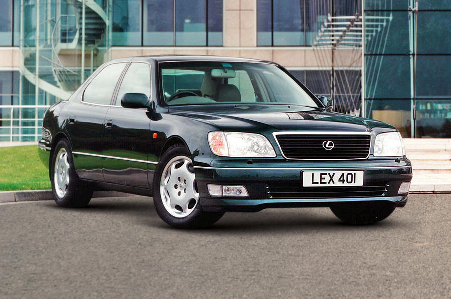 Lexus LS400 - stationary front