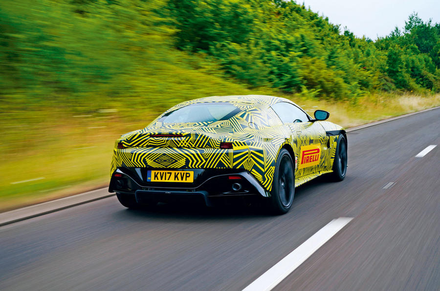 Aston Martin Vantage REVEALED in Official Spy Photos