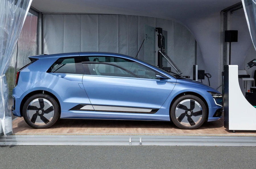 volkswagen gene shows design direction   golf autocar