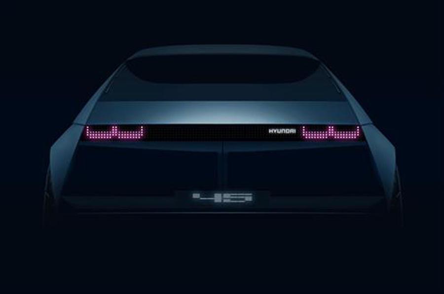 Hyundai 45 concept preview image - rear