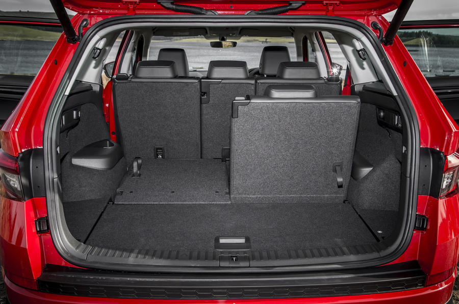 Skoda Kodiaq seating flexibility