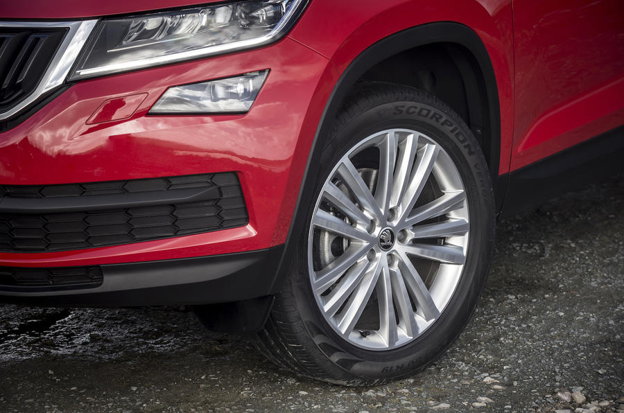 Skoda Kodiaq alloy wheels
