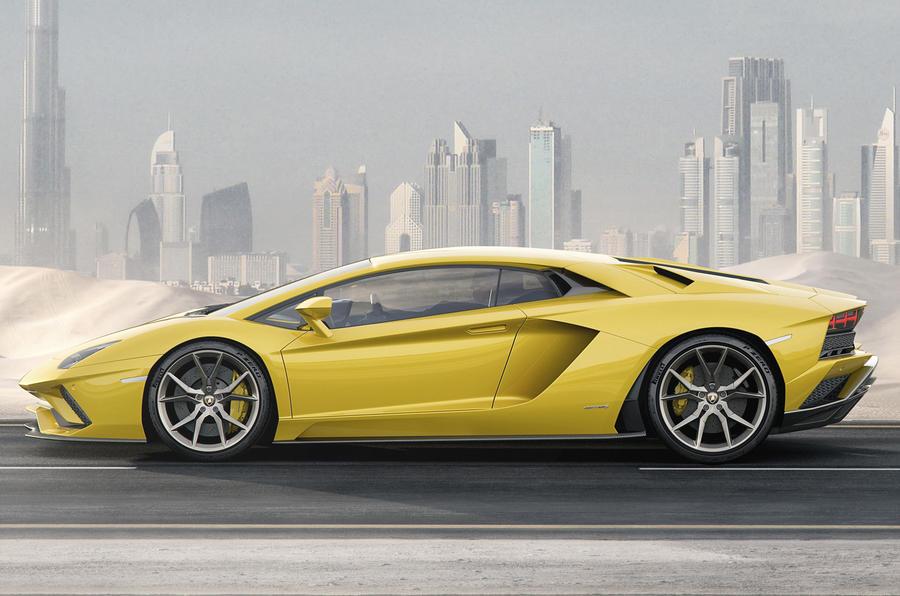 2017 Lamborghini Avent...