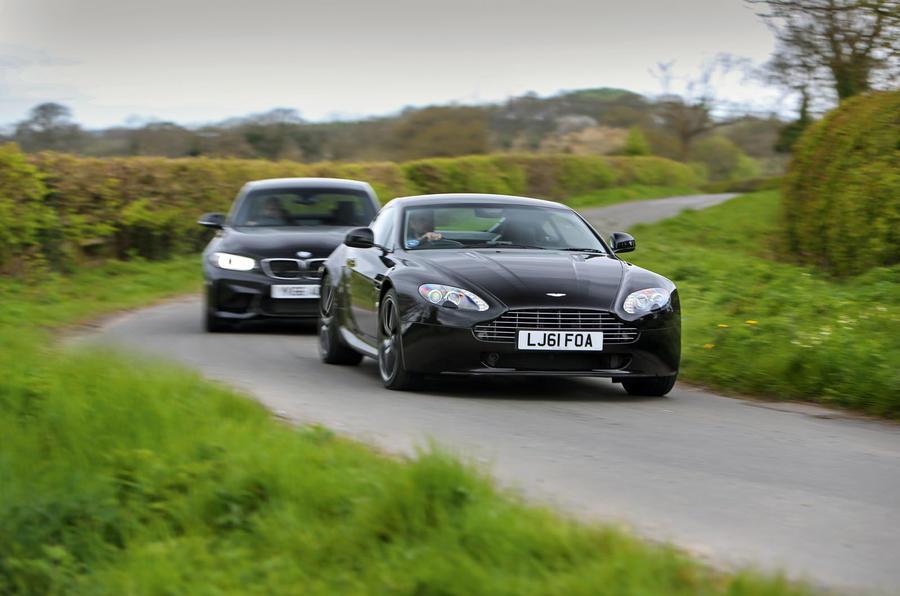 Head To Head New Bmw M2 Vs Used Aston Martin V8 Vantage Autocar