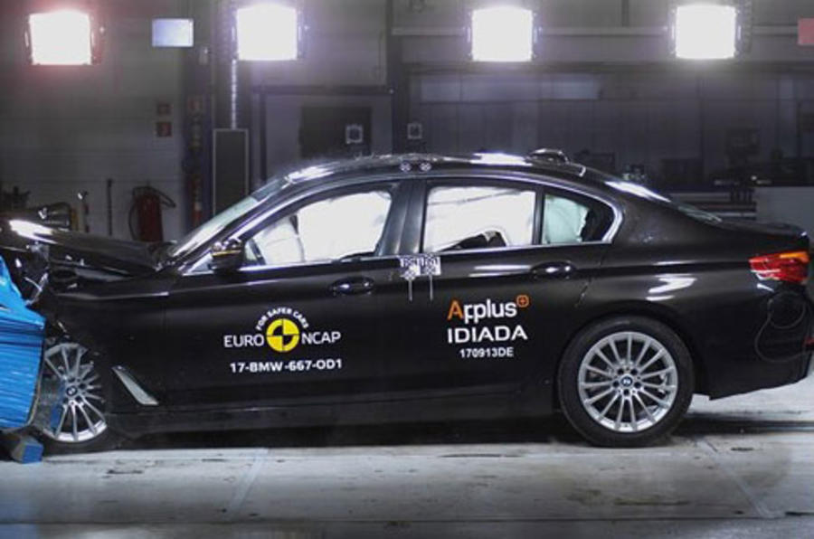New BMW 5 Series awarded five star by Euro NCAP rating