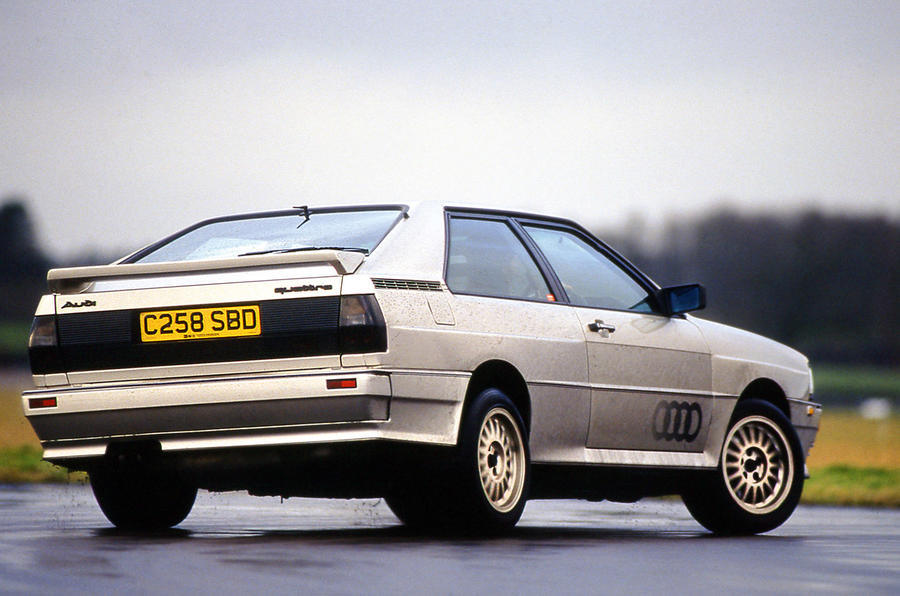 Audi Quattro - tracking rear