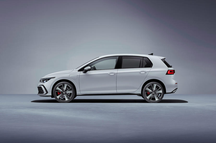 Volkswagen Golf GTE 2020 - stationary side