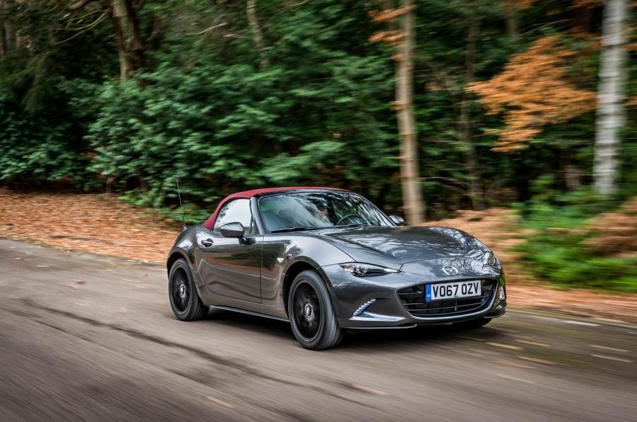 Mazda MX-5 Z-Sport action front