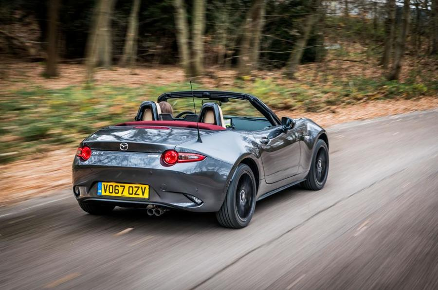 Mazda MX-5 Z-Sport action rear