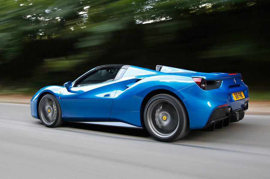 2016 Ferrari 488 Spider UK review review