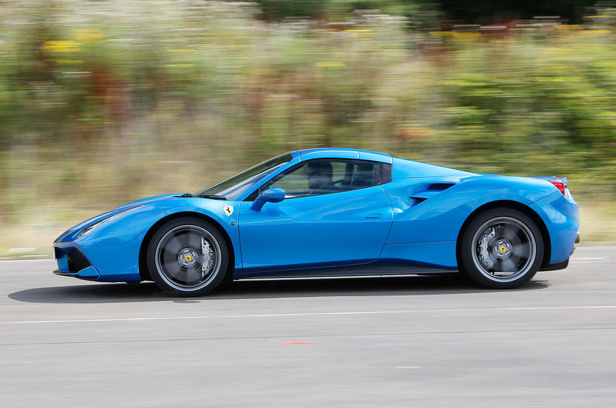 2016 ferrari 488 spider uk review review autocar. Black Bedroom Furniture Sets. Home Design Ideas