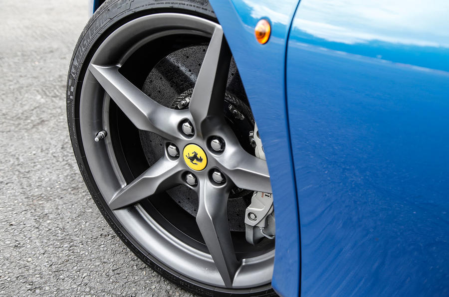 21in Ferrari 488 Spider alloy wheels