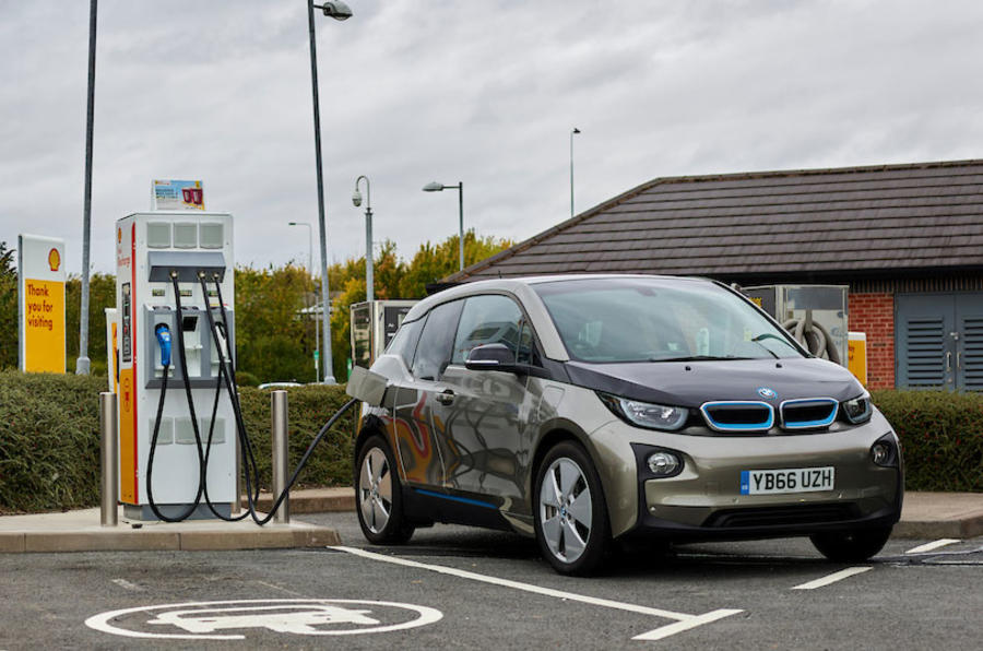 Shell shock: oil company embraces electric cars with new charging points