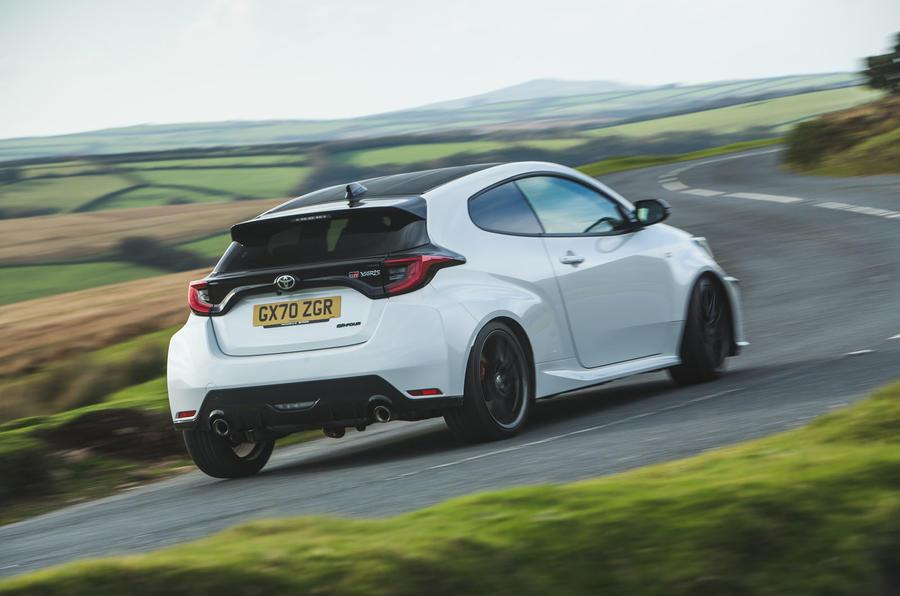 Britain's best affordable drivers car 2020 - winner rear