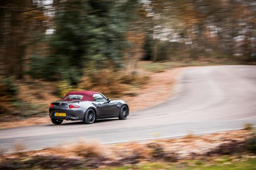 Mazda MX-5 Z-Sport cornering rear