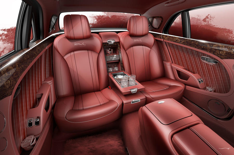 Bentley Mulsanne WO Edition pays homage to founder's 1930 8 Litre