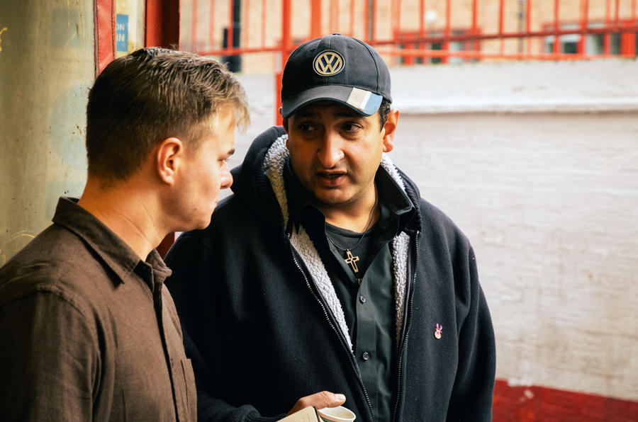 Joseph Salama and Felix Page