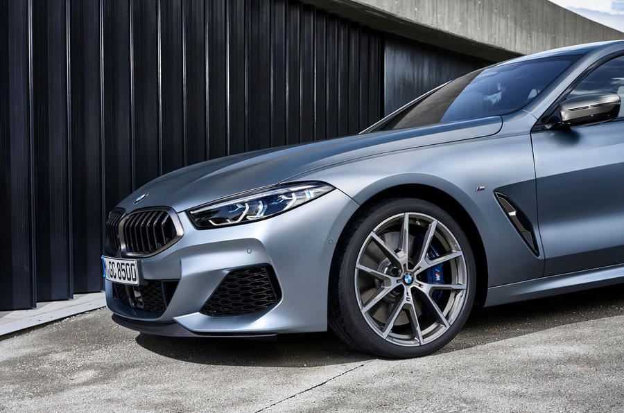 BMW 8 Series Gran Coupe 2019 first drive review - alloy wheels