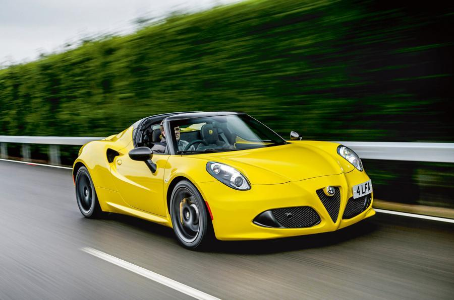 Overhauled Alfa Romeo 4C planned for 2018 reveal