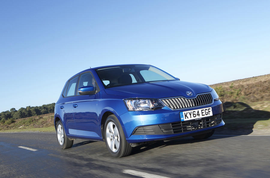 2015 skoda fabia 1 0 mpi 75 first drive review review autocar. Black Bedroom Furniture Sets. Home Design Ideas