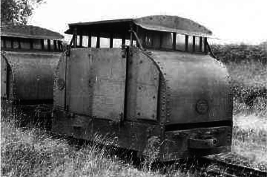 40hp Simplex railway tractor