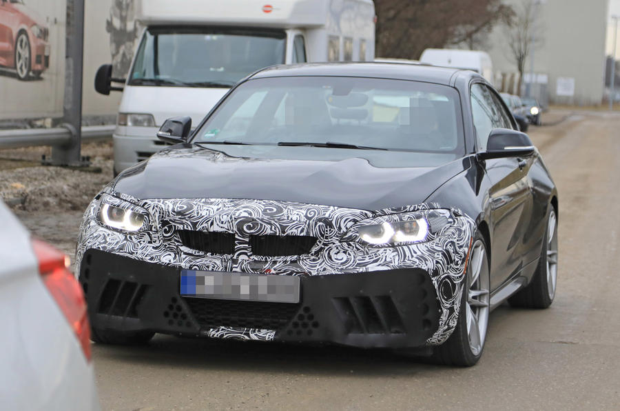 Facelifted BMW M2 headlights