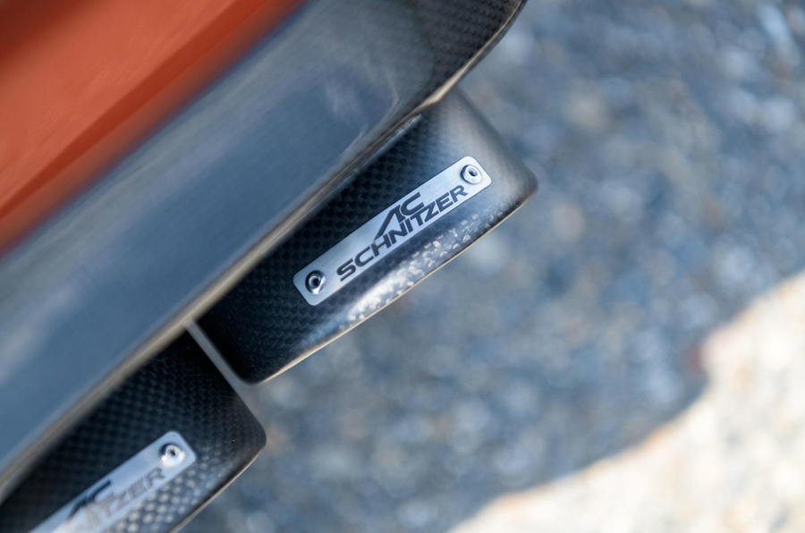 AC Schnitzer ACS2 Sport 2019 first drive review - exhaust tips