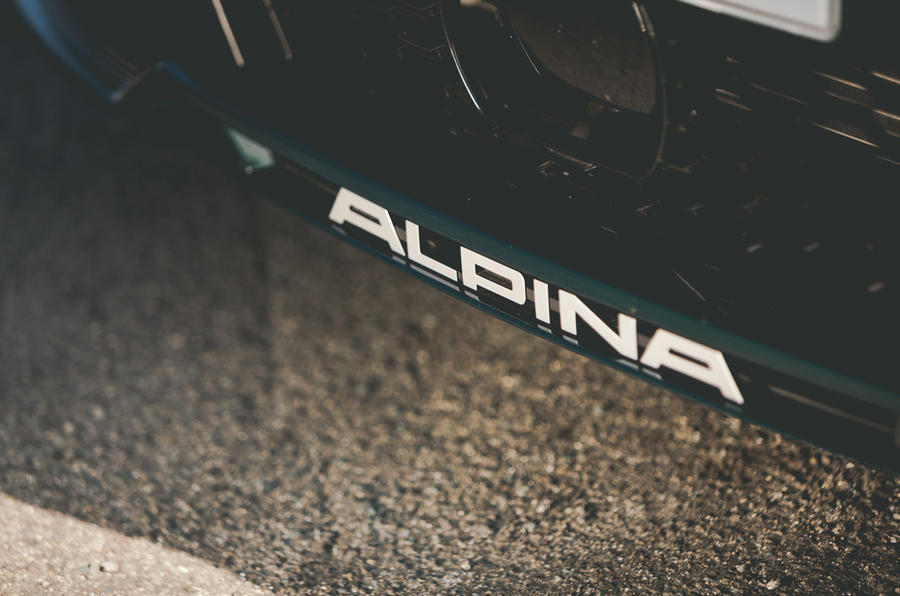 Alpina B3 Touring 2020 UK first drive review - bumper decals
