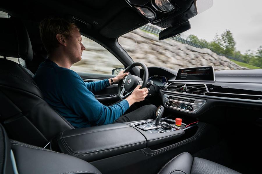 Alpina B7 2019 first drive review - Richard Lane driving