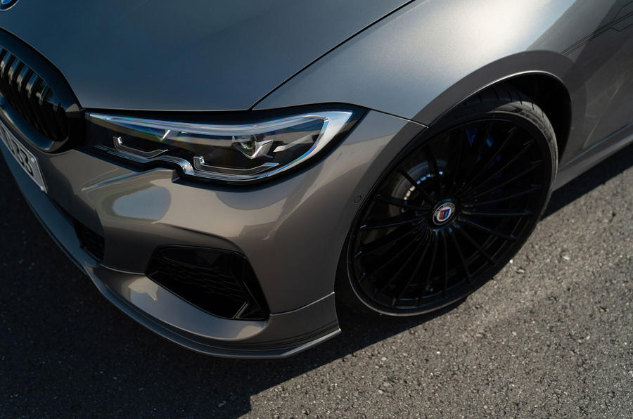 Alpina D3 S Touring 2020 first drive review - headlights