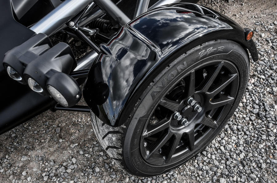 Ariel Atom 4 2018 first drive review front wheel