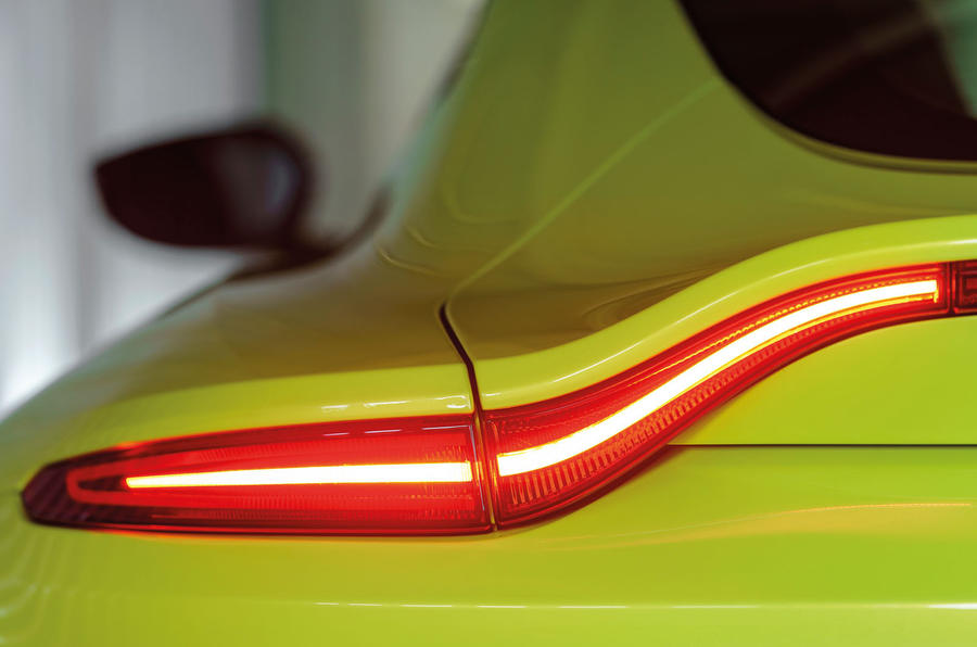 Aston Martin Vantage rear lights
