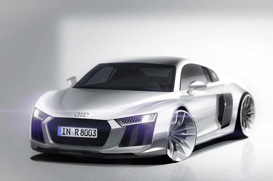 Audi R8 Mk2 - render