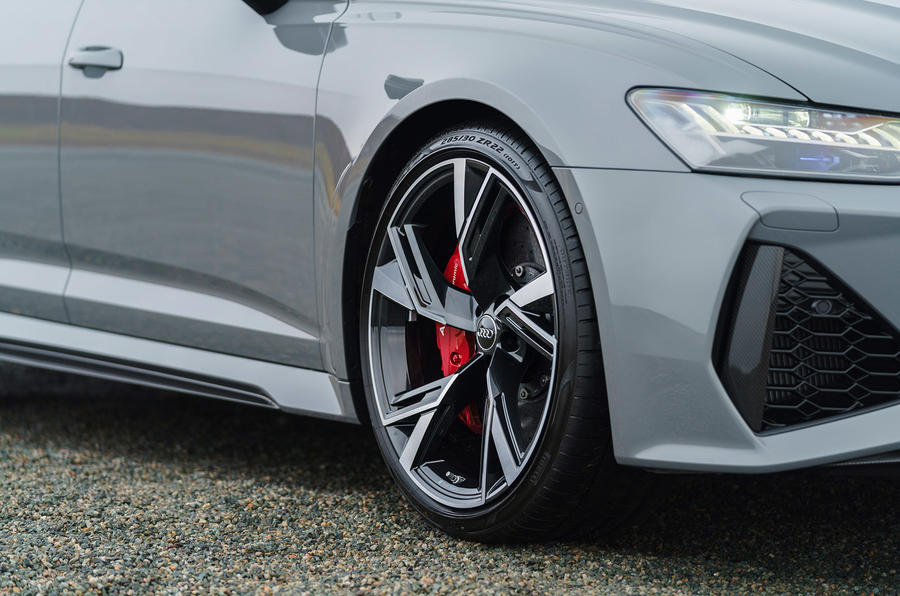 Audi RS6 2020 UK first drive review - alloy wheels