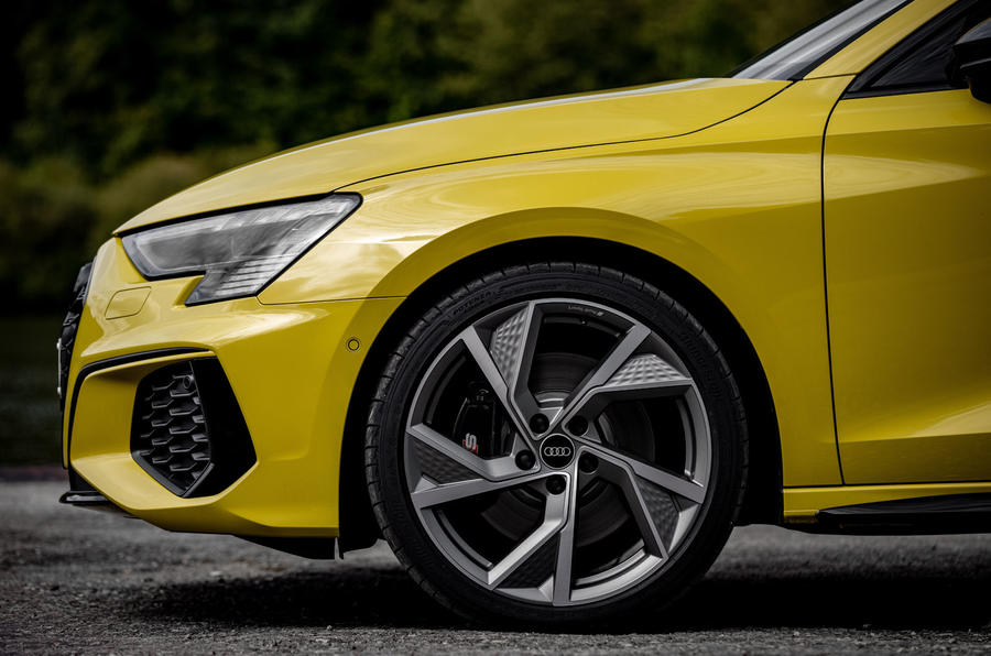 Audi S3 Sportback 2020 first drive review - alloy wheels