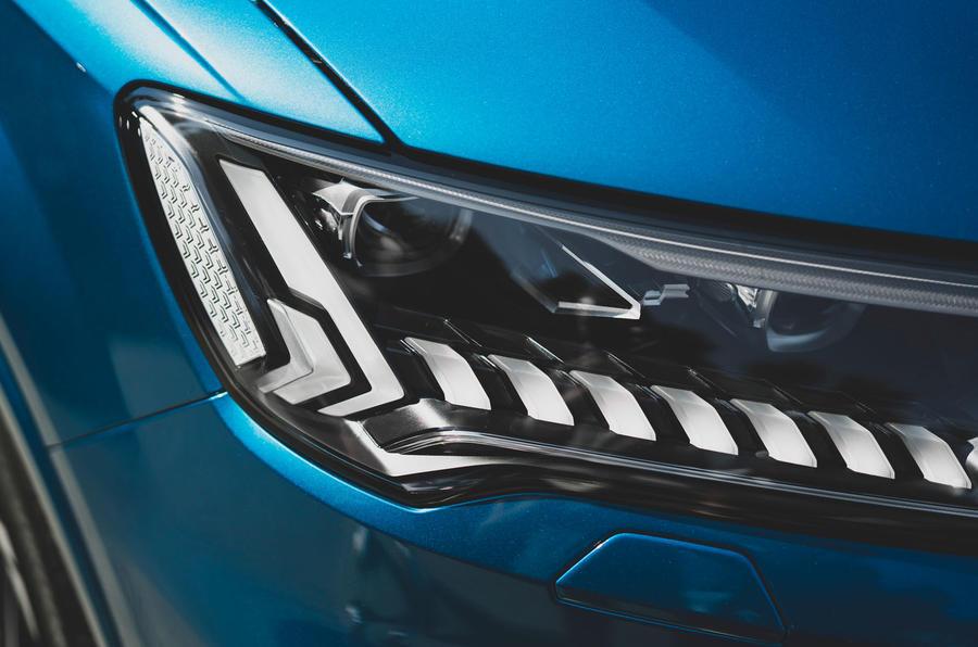 Audi SQ7 2020 first drive review - headlights