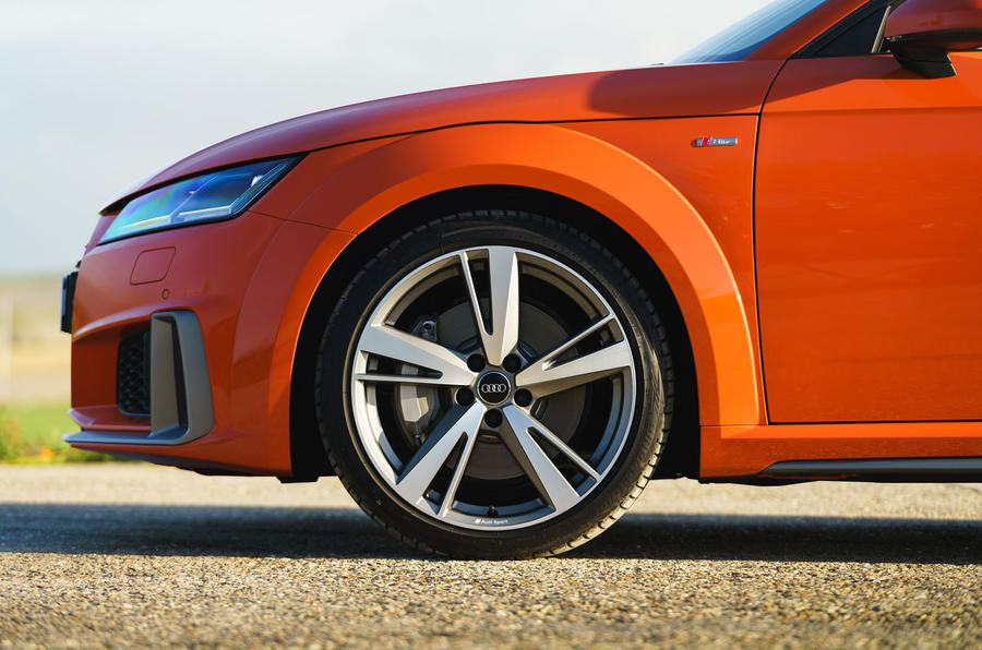 Audi TT Coupe 2019 UK first drive review - alloy wheels