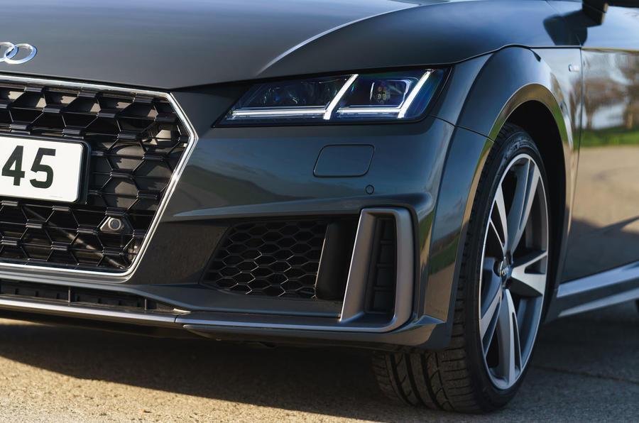 Audi TT Roadster 2019 UK first drive review - front bumper