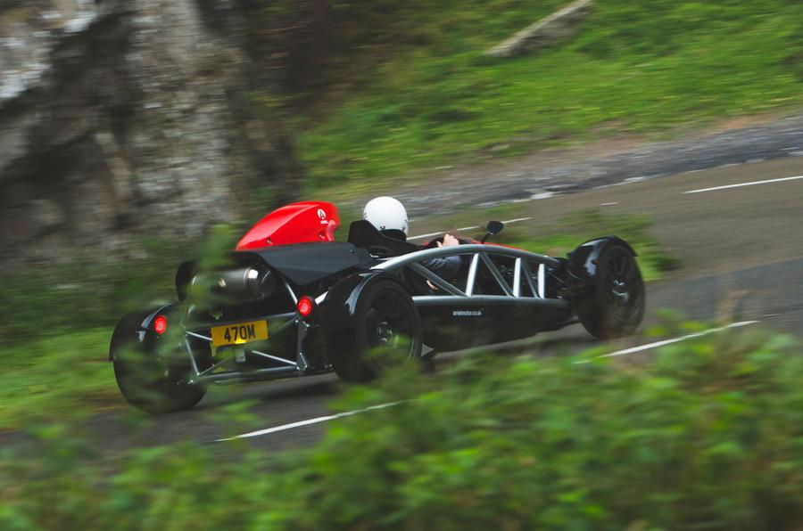 Ariel Atom 4 - Britain's Best Driver's Car 2020 - rear