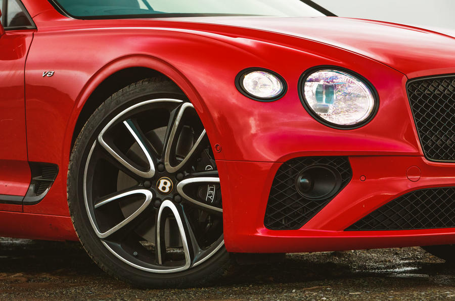 Bentley Continental GT V8 2020 UK first drive review - alloy wheels
