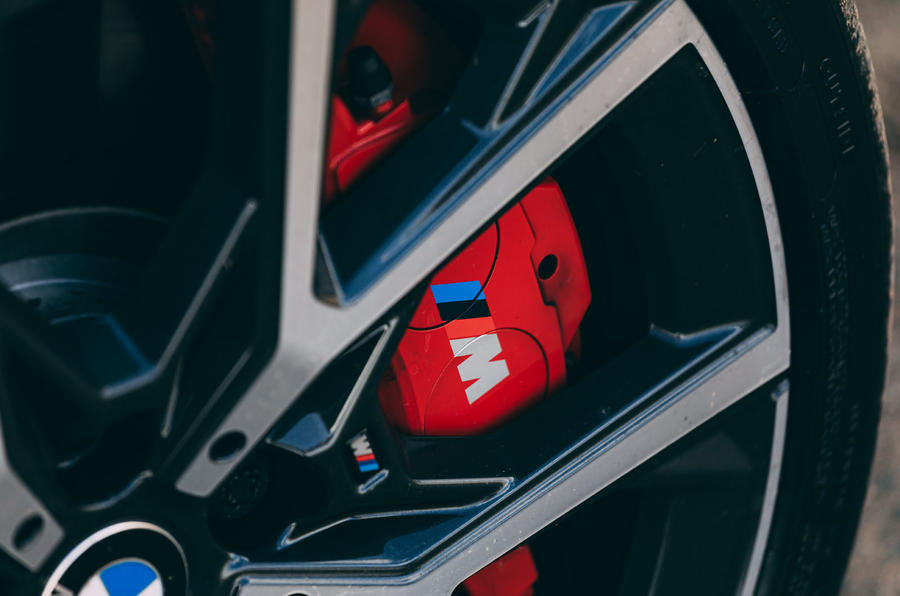 5 BMW 1 Série 128ti 2021 : premier examen des étriers de frein au Royaume-Uni