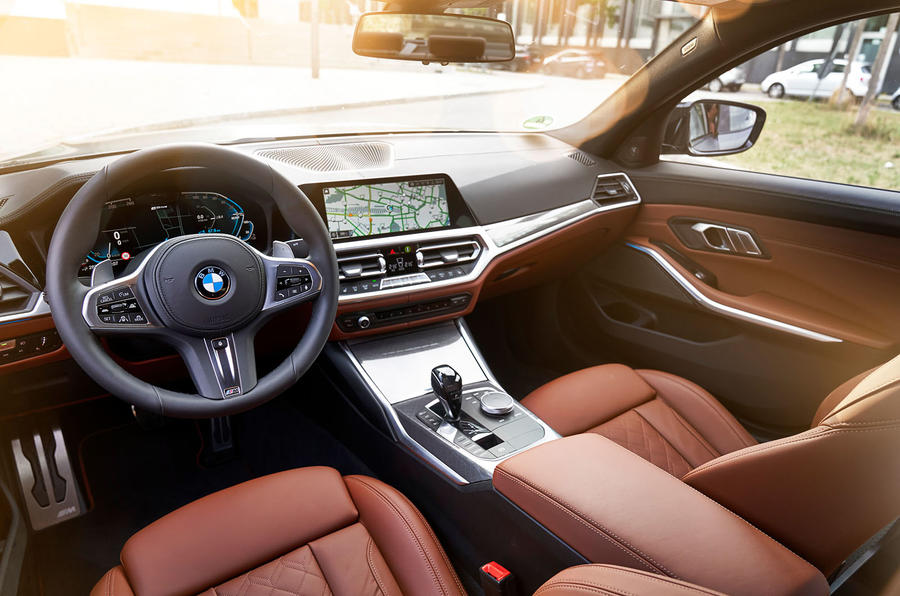 BMW 3 Series 330e 2019 first drive review - cabin