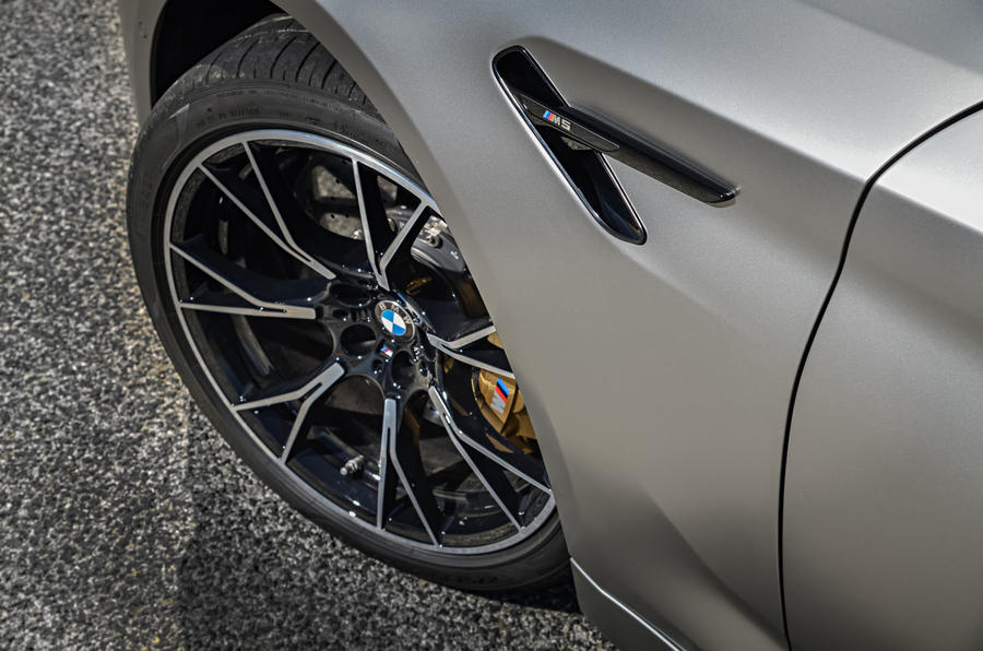 BMW M5 Competition 2018 first drive review alloy wheels