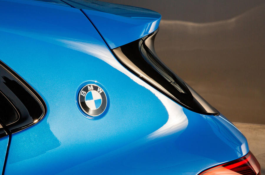 BMW X2 M35i 2019 first drive review - rear three-quarters