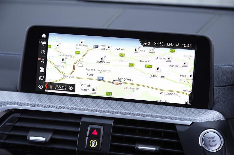 BMW X3 xDrive30e 2020 : premier bilan de conduite au Royaume-Uni - infotainment