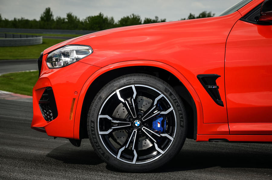 BMW X4 M Competition 2019 first drive review - alloy wheels