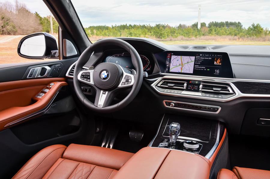BMW X7 M50i 2020 : premier bilan de conduite - tableau de bord